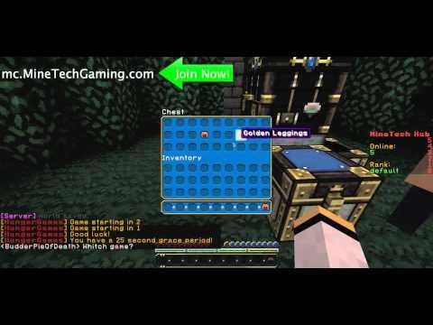 MineTech Hub PRISON SKYBLOCK SKYWARS HUNGERGAMES - Minecraft tnt spiele