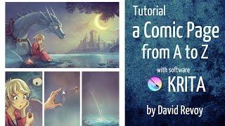 tutorial com krita de pintura