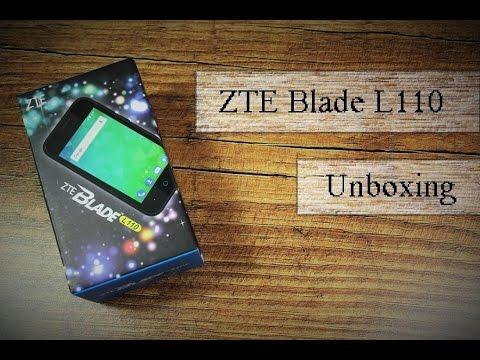 Kleines Phone mit viel Leistung ?? 4 Zöller ZTE Blade L110 im Unboxing