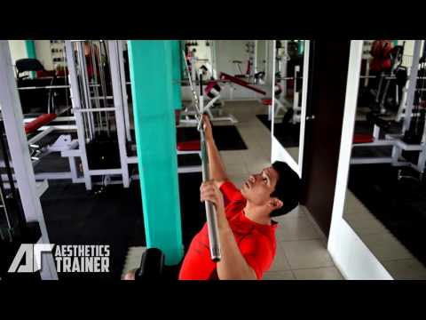 FRONT WIDE GRIP LAT PULLDOWN