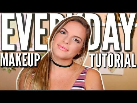 My Go-To Makeup Look | Quick & Easy | Chit Chat Tutorial | Casey Holmes