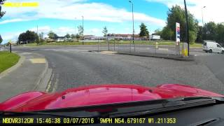 Car Crash On Your Driving Lesson!! - Learning to Drive 2016