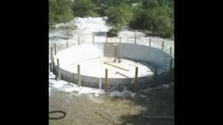 How to bury an above ground pool