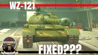 WZ 121 IS IT FIXED? WORLD OF TANKS BLITZ