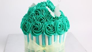 Giant Cupcake Cake- Rosies Dessert Spot