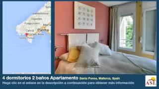 preview picture of video '4 dormitorios 2 baños Apartamento se Vende en Santa Ponsa, Mallorca, Spain'