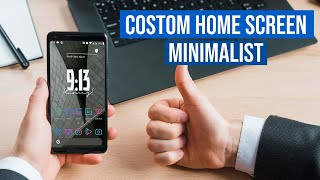 Cara Membuat Home Screen Minimalist HP Android