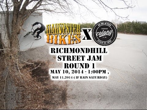 Harvester Bikes x Colony Street Jam Round 1 (Richmondhill) 2014 Toronto, Canada