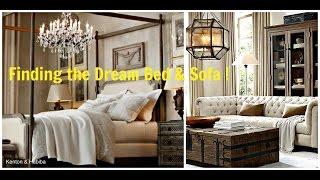 DREAMING AT CRATE & BARREL, RESTORATION HARDWARE & A VINTAGE PERFUME SHOP!  Kenton & Habiba Vlog #35
