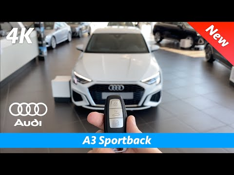 Audi A3 Sportback (S Line) 2021 - First FULL in-depth review in 4K | Interior - Exterior - MMI