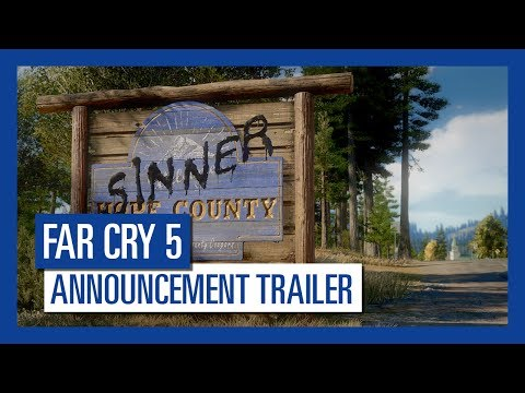 Far Cry 5 Uplay Key EUROPE - trailer video