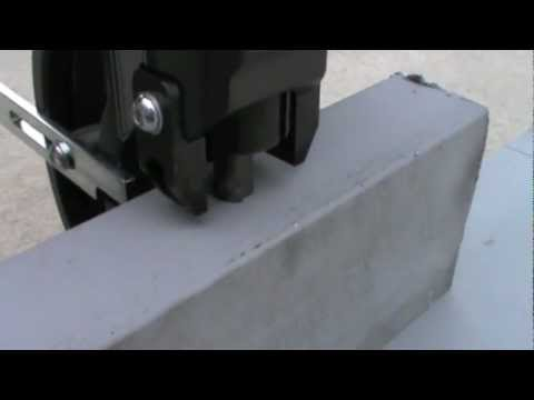 PB-500 Cordless Hydraulic Hole Puncher Demonstration