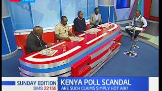 Political page: Cambridge Analytica role in Kenya poll scandal