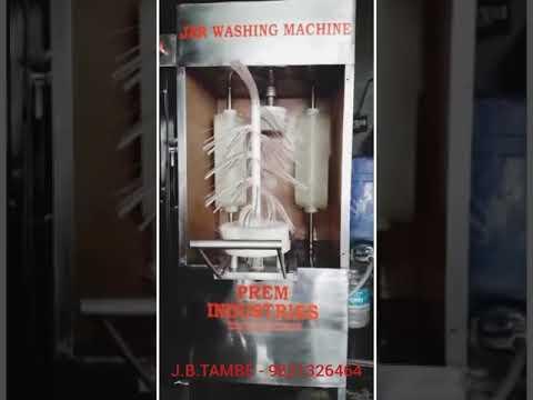 Jar Brush Washing Machine