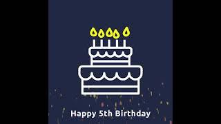 Happy 5th Birthday Escone!