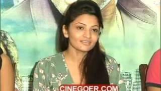 Duniya Press Meet - Kranthi, Nishanth, Anisha Singh, Alisha