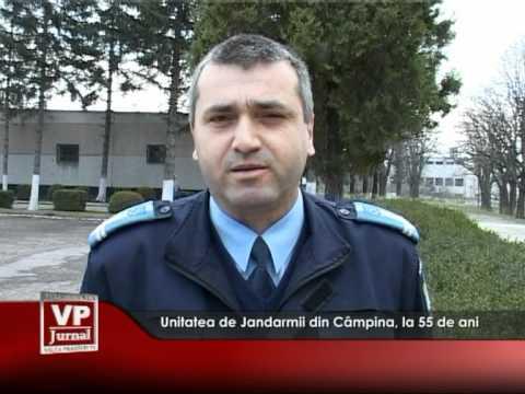 Unitatea de Jandarmii din Câmpina, la 55 de ani