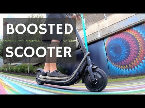 Boosted Scooter Review!