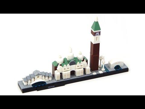 Vidéo LEGO Architecture 21026 : Venise