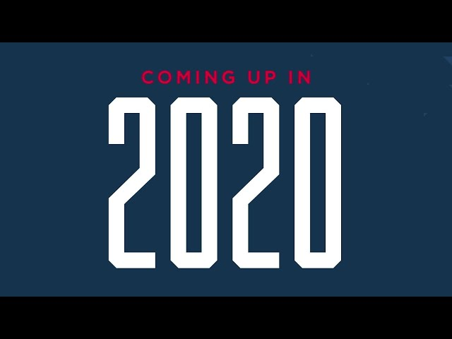 Coming up in 2020