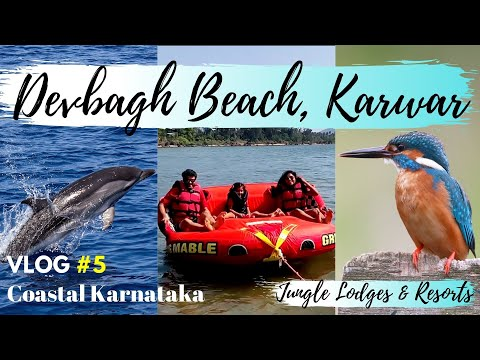 Devbagh Beach Resort | Karwar | Dolphin Watching | Jungle Lodges Resort | Coastal Karnataka VLOG#5