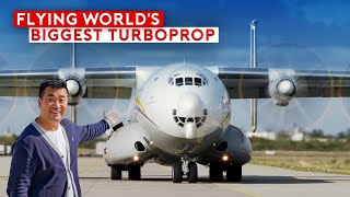 Flying On The World's Biggest Turboprop – Antonov An-22