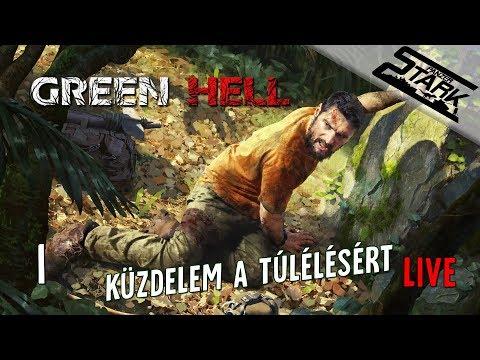 Green Hell - 1.Rész (Túlélés a Zöld Pokolban) - Stark LIVE