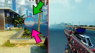 NEW SECRET ON AQUARIUM!!! BEST SNIPING SPOT!! *BLACK OPS 3 GLITCHES*