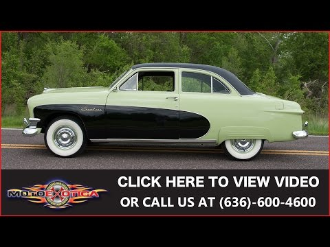 Video of Classic '50 Ford Crestliner Tudor Sedan Offered by MotoeXotica Classic Cars - HO6T