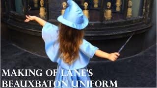 Beauxbaton Uniform Dress Tutorial (Upcycled Harry Potter Cosplay)
