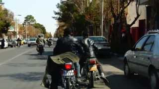 preview picture of video 'Iranian motorbike action'
