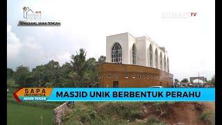 Inilah Masjid Unik Berbentuk Perahu di Semarang