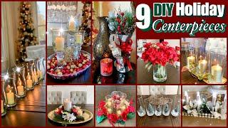 Holiday Centerpiece Dollar Tree DIYS