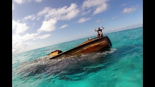 22. Stuck in a Reef with Two Other Boats. Sailing Beveridge Reef @The Life Nomadik - Video Youtube