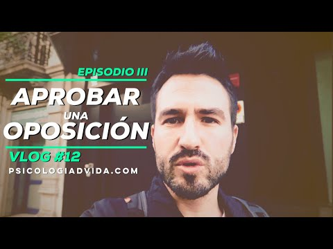 Aprobar Oposiciones Psicología (justicia) - Episodio III - Vlog #12