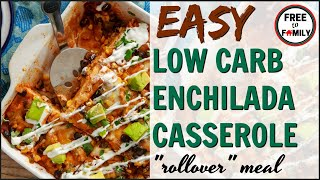 🌮Frugal Meals On A Budget! 🌯Low Carb Enchilada Casserole Whats For Dinner Wednesday ~ Cook With Me