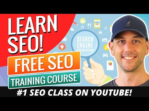 Learn SEO In 1 Video!  #1 Free SEO Training Course Online