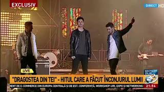 O-Zone - Dragostea Din Tei LIVE | Ziua Europei | Bucuresti 2017 (Reunirea Trupei)