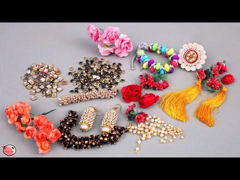 11 DIY Jewelry Ideas ! Designer Jewellery Making | Necklace, Earrings, Finger Ring, Bracelet