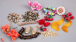 11 DIY Jewelry Ideas ! Designer Jewellery Making | Necklace, Earrings, Finger Ring, Bracelet