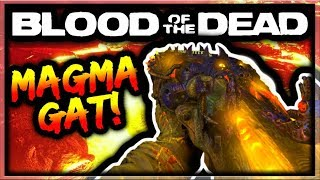 Blood of the Dead How To Get Magmagat Easter Egg Guide! (Black Ops 4 Zombies Blundergat Upgrade)