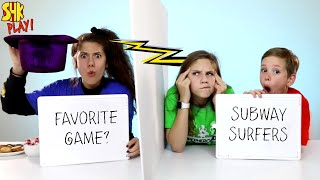 Mind Reading TWIN TELEPATHY CHALLENGE! Do Noah And Hope Know Sister Eden? SuperHero Kids Challenge