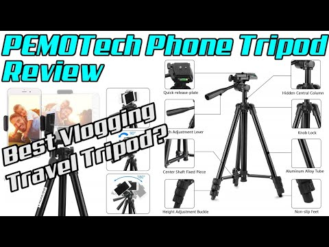 PEMOTech 50 Phone Tripod Review - The Best Vlogging Travel Tripod