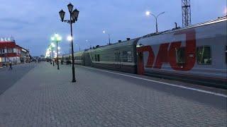 Поезда Архангельск-Москва и Архангельск-СПБ-Москва