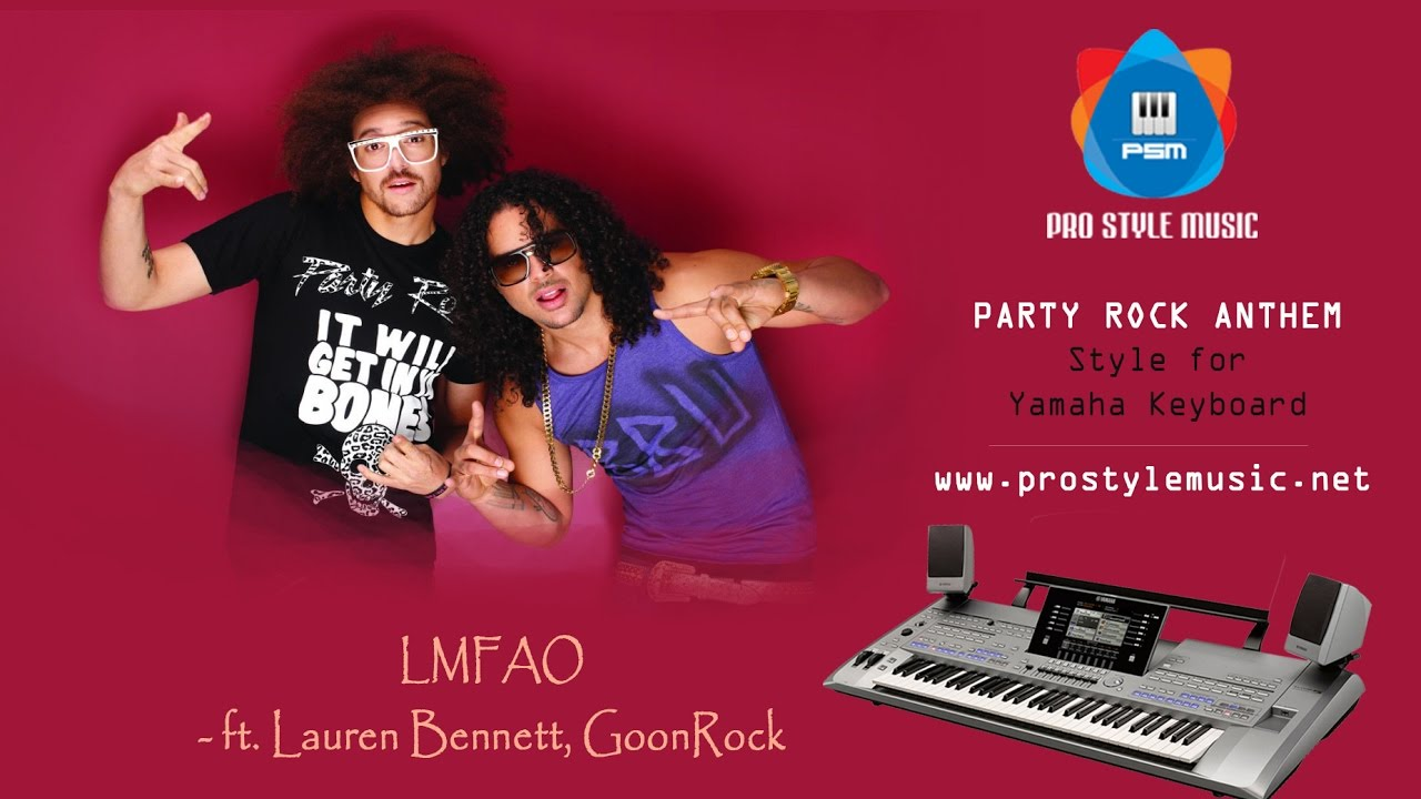 Party Rock Anthem with Audio Multipad x70 T45