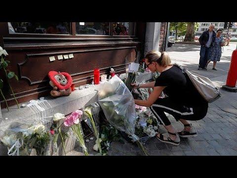 Πορεία στη μνήμη των θυμάτων στη Λιέγη
