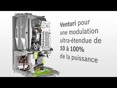 Chaudière murale gaz condensation CONDENS 8700IW 30 / 35kW blanche