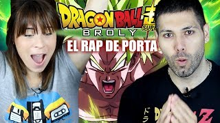 DRAGON BALL SUPER BROLY RAP DE PORTA | ¡REACCIÓN ÉPICA SEKKYOKU!