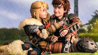 Hiccup and Astrid Cute Scene - HOW TO TRAIN YOUR DRAGON 2 (2014) Movie Clip