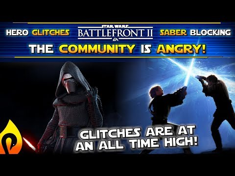 Hackers, Cheaters, and Glitches, Have Taken Over Star Wars Battlefront 2!